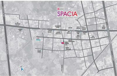 Project Image of 2061.0 - 2592.0 Sq.ft 3 BHK Apartment for buy in Arjun Spacia