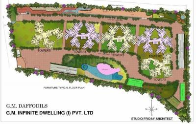 Gallery Cover Image of 1650 Sq.ft 3 BHK Apartment for rent in GM Daffodils, Jalahalli West for 23000