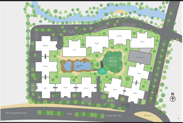 Project Image of 568.87 - 699.98 Sq.ft 2 BHK Apartment for buy in Marathon Nexzone Avior 2
