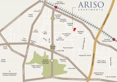 Project Image of 450 - 712 Sq.ft 2 BHK Apartment for buy in Kyraa Ariso Apartment
