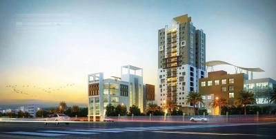 Gallery Cover Image of 1682 Sq.ft 3 BHK Apartment for rent in Signum Aristo, Maniktala for 40000