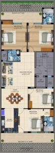 Project Image of 0 - 2157 Sq.ft 4 BHK Apartment for buy in Paradise Homes