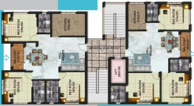 Project Image of 1335 - 1450 Sq.ft 3 BHK Apartment for buy in Pentagon Hillside