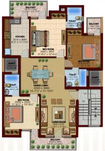 600 Sq.ft Residential Plot for Sale in Sector 57, Gurgaon