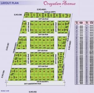 Project Image of 800.0 - 1504.0 Sq.ft Residential Plot Plot for buy in Vetri Oragadam Avenue