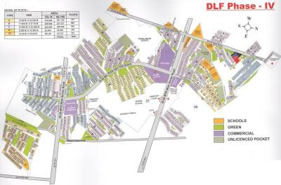 360 Sq.ft Residential Plot for Sale in DLF Phase 4, Gurgaon