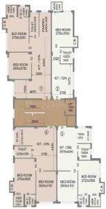 Project Image of 263.0 - 514.0 Sq.ft 1 BHK Apartment for buy in Surakha Residency 2