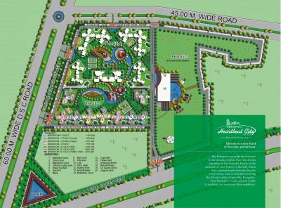Project Image of 1195 - 3235 Sq.ft 2 BHK Apartment for buy in Amrapali Heartbeat City