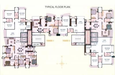 Project Image of 637.0 - 1497.0 Sq.ft 2 BHK Apartment for buy in Sadguru Poonam Heights