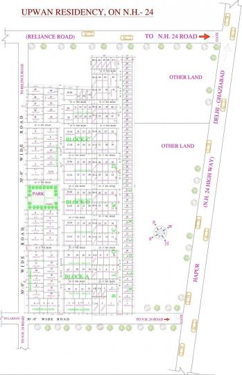 Project Image of 450 - 1800 Sq.ft Residential Plot Plot for buy in AKH Upwan Residency 1