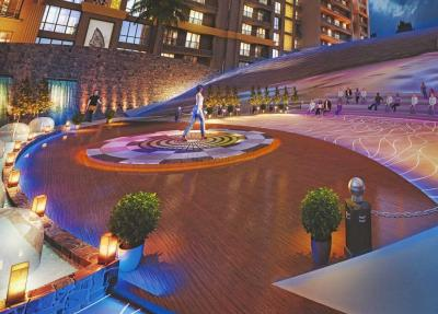 Gallery Cover Image of 1340 Sq.ft 3 BHK Apartment for buy in Paradise Sai World City, Panvel for 11700000