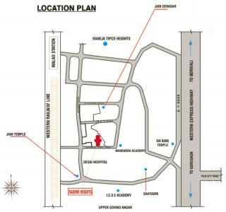 Project Image of 1210 - 1661 Sq.ft 2 BHK Apartment for buy in Rashmi Housing Heights
