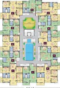 Gallery Cover Image of 1275 Sq.ft 3 BHK Apartment for buy in Shravanthi Pristine, Hulimavu for 7700000