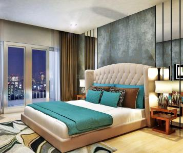 Gallery Cover Image of 1800 Sq.ft 3 BHK Apartment for rent in DLF The Skycourt, Sector 86 for 23000