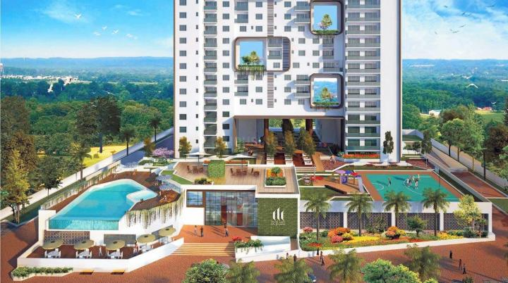 Project Image of 1550.0 - 2260.0 Sq.ft 3 BHK Apartment for buy in RJ Lake Gardenia