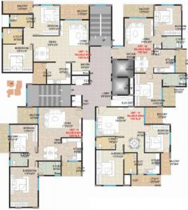 Gallery Cover Image of 1320 Sq.ft 2 BHK Apartment for rent in Pristine, Gunjur Village for 20000