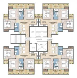 Project Image of 650 Sq.ft 2 BHK Apartment for buyin Sector 81 for 2600000