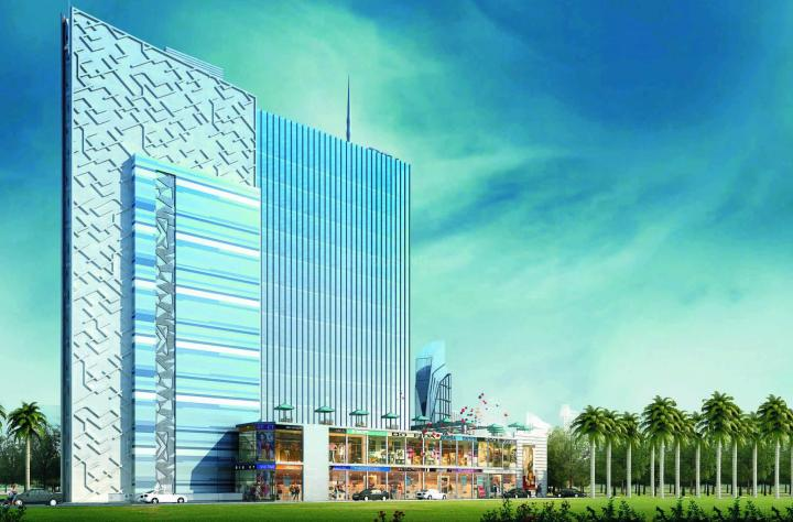 Project Image of 117.0 - 1800.0 Sq.ft Office Office for buy in Capital The City Scape