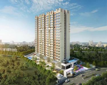 Project Image of 465.0 - 630.0 Sq.ft 1 BHK Apartment for buy in Srishti Group Pride Phase 1