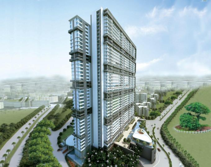 Project Image of 747.0 - 1627.0 Sq.ft 2 BHK Apartment for buy in Kanakia Spaces Realty Levels