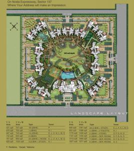 Gallery Cover Image of 1418 Sq.ft 3 BHK Apartment for rent in Logix Blossom County, Sector 137 for 17000