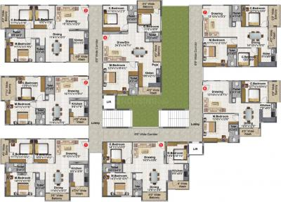 Project Image of 965 - 1148 Sq.ft 2 BHK Apartment for buy in Fortune Green Gold Finch