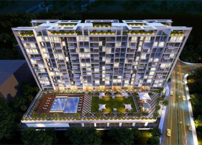 Gallery Cover Image of 1200 Sq.ft 2 BHK Apartment for rent in Ulwe for 18000
