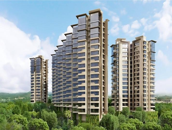 Project Image of 441.0 - 1052.0 Sq.ft 1 BHK Apartment for buy in Kanakia Rainforest