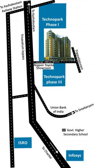 Project Image of 910 - 1693 Sq.ft 2 BHK Apartment for buy in Arcon Infinity