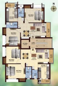Project Image of 980.0 - 999.0 Sq.ft 2 BHK Apartment for buy in VGN Brookville