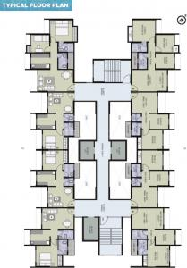 Project Image of 356 - 548 Sq.ft 1 BHK Apartment for buy in Vihang Metro Hive D 1