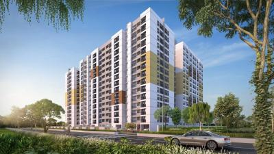 Gallery Cover Image of 900 Sq.ft 2 BHK Apartment for rent in Navin Starwood Towers 2, Vengaivasal for 15000