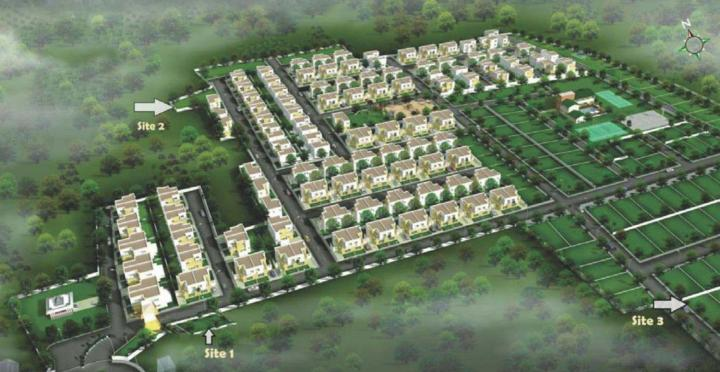 Project Image of 1524.0 - 1960.0 Sq.ft 3 BHK Villa for buy in Casagrand Urbano Phase 2