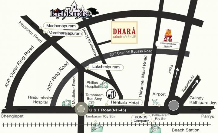 Project Image of 861.0 - 1800.0 Sq.ft Residential Plot Plot for buy in Manju Dhara Avenue