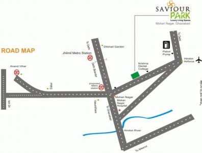 Gallery Cover Image of 1265 Sq.ft 3 BHK Apartment for buy in Saviour Park, Rajendra Nagar for 6000000