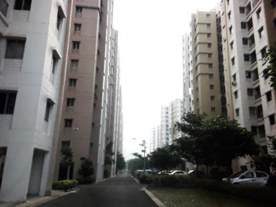 Gallery Cover Image of 720 Sq.ft 2 BHK Apartment for rent in Shapoorji Pallonji Group SP Shukhobristhi, New Town for 12000