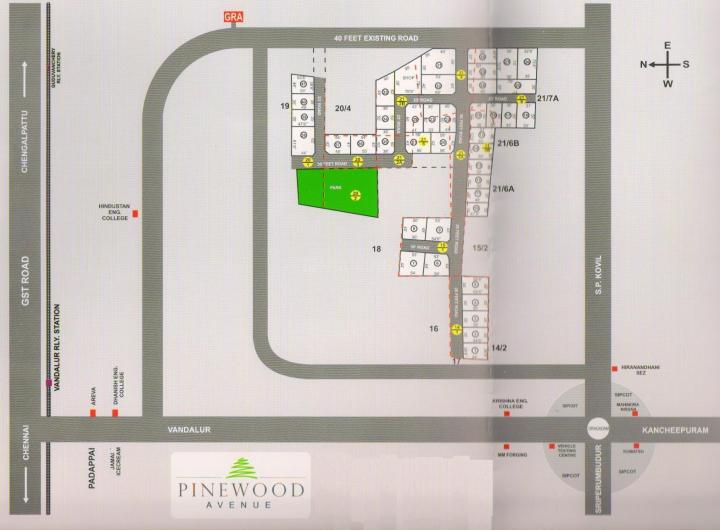 Project Image of 1645.0 - 2808.0 Sq.ft Residential Plot Plot for buy in ABI Pine Wood Avenue