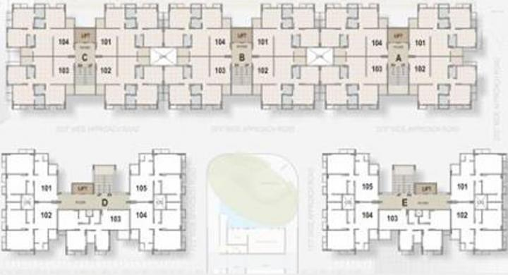 Project Image of 945.0 - 1665.0 Sq.ft 2 BHK Apartment for buy in Shreeji Devkrupa Greens