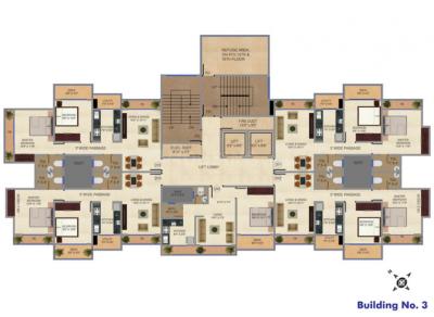 एआईएमएस एसईए व्यू में खरीदने के लिए 349.72 - 782.32 Sq.ft 1 BHK अपार्टमेंट प्रोजेक्ट  की तस्वीर