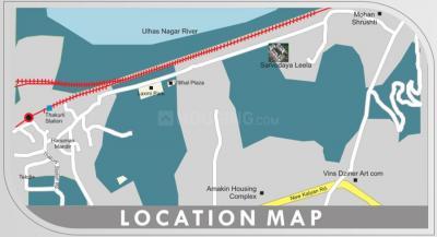 हैप्पी होम सर्वोदया लीला में खरीदने के लिए 700.0 - 970.0 Sq.ft 1 BHK अपार्टमेंट प्रोजेक्ट  की तस्वीर