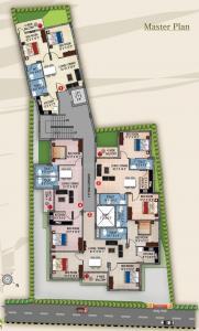 भगत सफायर में खरीदने के लिए 875.0 - 1191.0 Sq.ft 2 BHK अपार्टमेंट प्रोजेक्ट  की तस्वीर