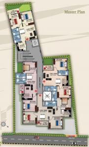 Project Image of 875 - 1191 Sq.ft 2 BHK Apartment for buy in Bhagat Sapphire