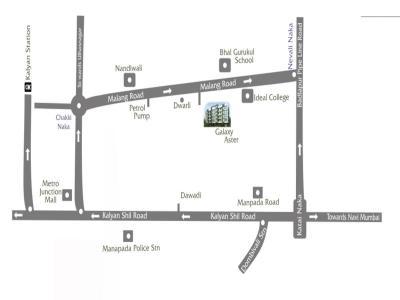 गैलेक्सि ऐस्टर में खरीदने के लिए 335 - 480 Sq.ft 1 RK अपार्टमेंट प्रोजेक्ट  की तस्वीर