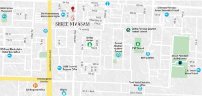 Gallery Cover Image of 1525 Sq.ft 3 BHK Apartment for buy in Shree Nivasam, Anna Nagar for 27200000