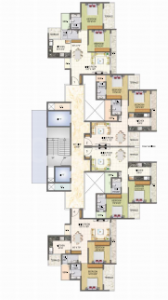 Gallery Cover Image of 1150 Sq.ft 2 BHK Apartment for rent in Keystone Elita, Kharghar for 25000