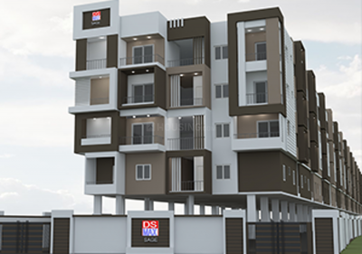 Project Image of 996.0 - 1076.0 Sq.ft 2 BHK Apartment for buy in DS Max Sage