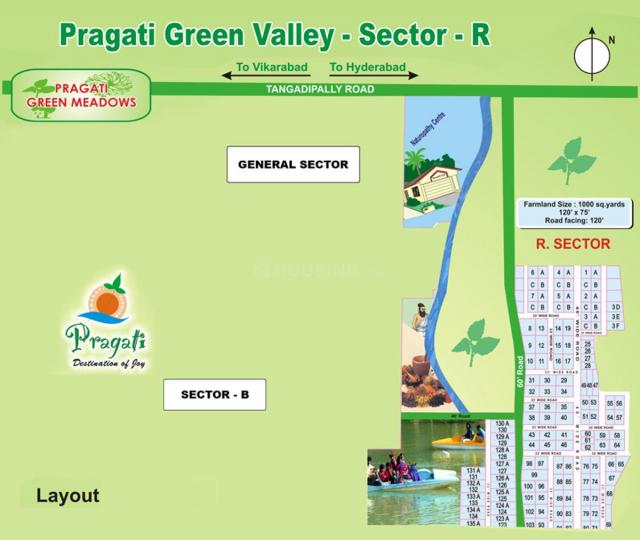Project Image of 0 - 5066.9 Sq.ft Residential Plot Plot for buy in Pragati Green Valley R Sector