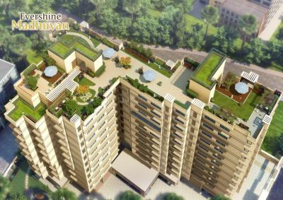 Project Image of 744 - 1304 Sq.ft 2 BHK Apartment for buy in Evershine Madhuvan