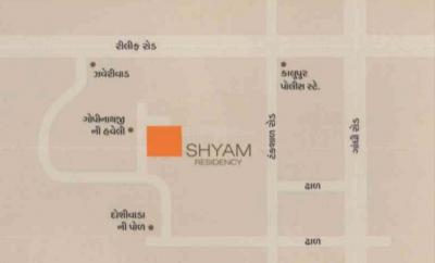 Gallery Cover Image of 1960 Sq.ft 3 BHK Apartment for buy in Shyam Residency, Kalupur for 10600000