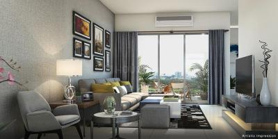 Gallery Cover Image of 1232 Sq.ft 2 BHK Apartment for buy in Okas Residency, Sarojini Nagar for 4000000